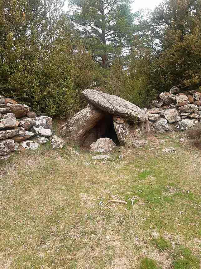 Dolmen de Letranz en Villanúa