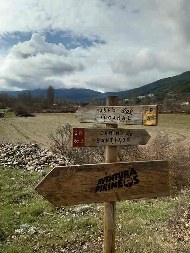 Punto de partida para el Paseo de los Rigales en el Juncaral