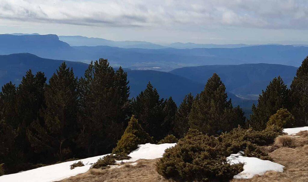 Espectaculares vistas desde la Punta de la Selva