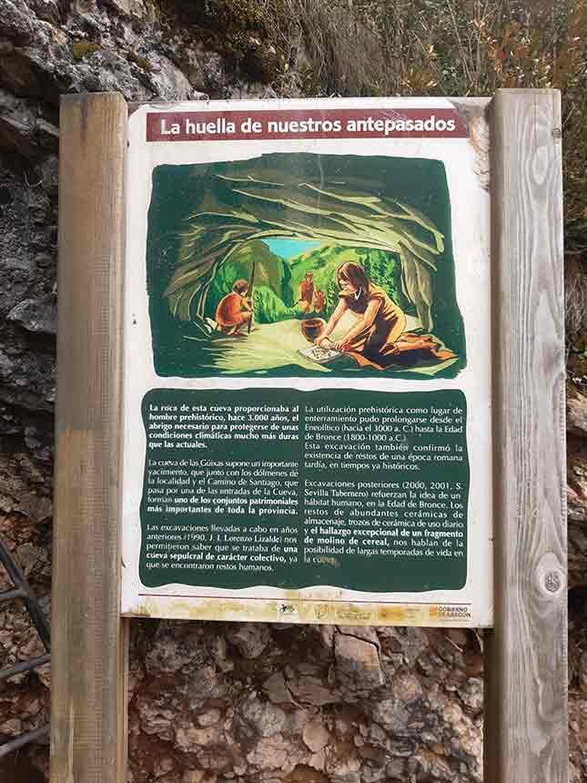 La huella de nuestros antepasados en el Sendero Interpretativo de las Cuevas de las Güixas